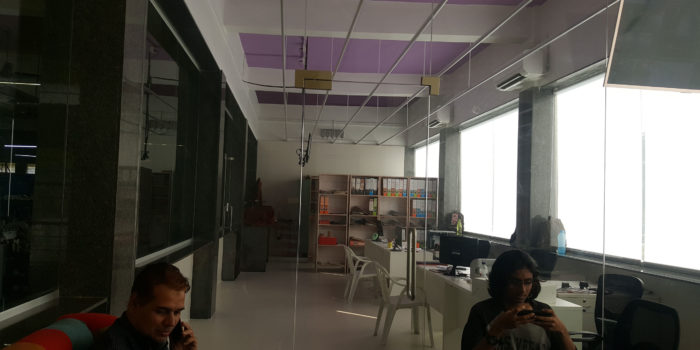 Interior design of a factory-office (ROIIDS)